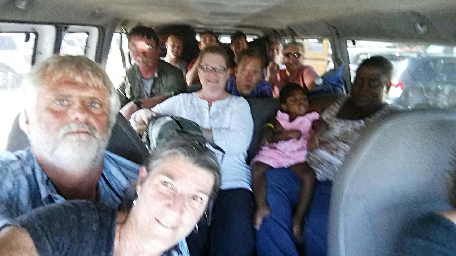 Haiti van ride
