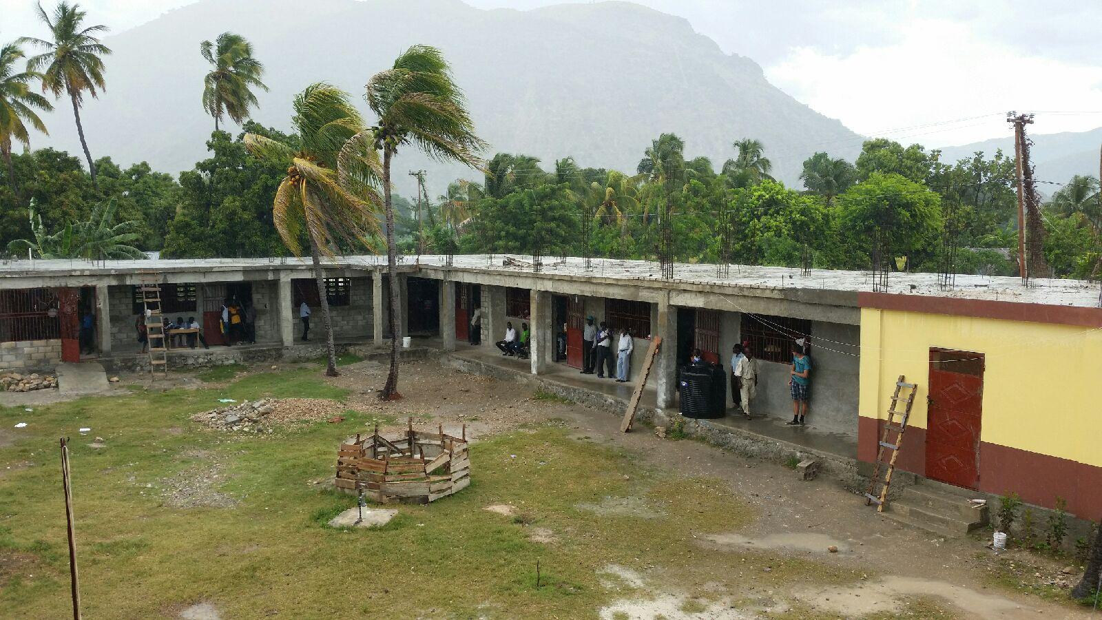 Class rooms still under construcrion