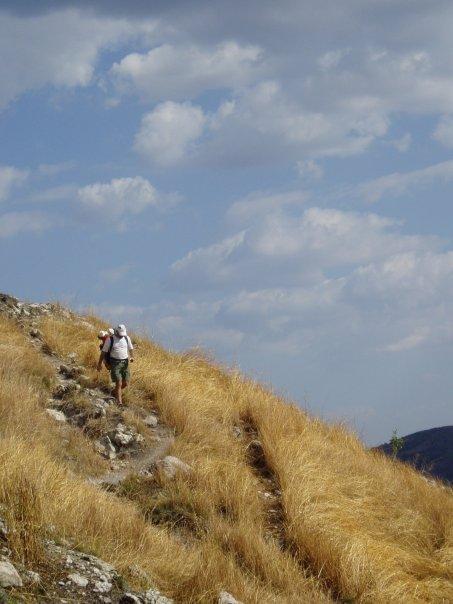 Tony Hiking