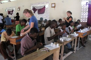 100+ Haitians learn to make beads